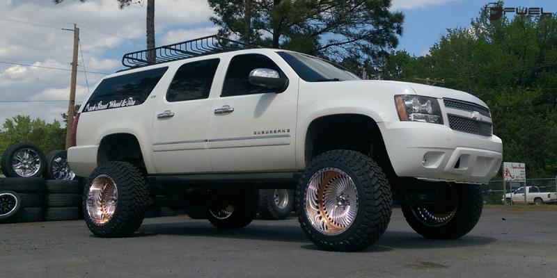 Chevrolet Suburban with Fuel Forged Wheels