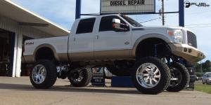 Ford F-250 Super Duty with Fuel Forged Wheels FF12