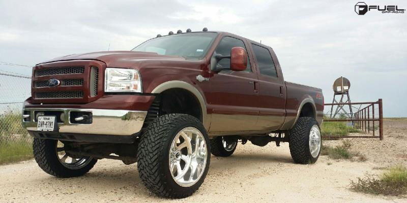 Ford F-350 Super Duty King Ranch with Fuel Forged Wheels FF12