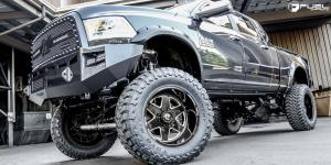 Dodge Ram 3500 with Fuel Forged Wheels