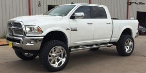Dodge Ram 2500 with Fuel Forged Wheels FF02