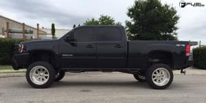 GMC Sierra 2500 HD with Fuel Forged Wheels FF09