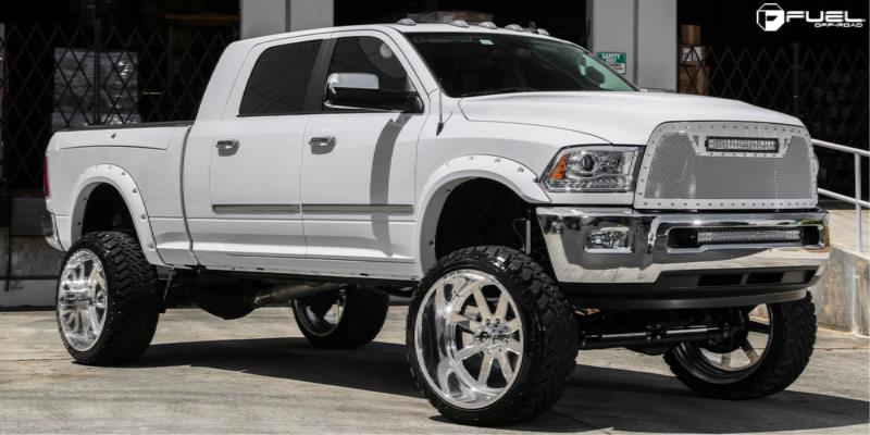 Dodge Ram 2500 with Fuel Forged Wheels FF09