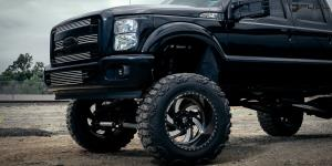Ford F-350 with Fuel Forged Wheels