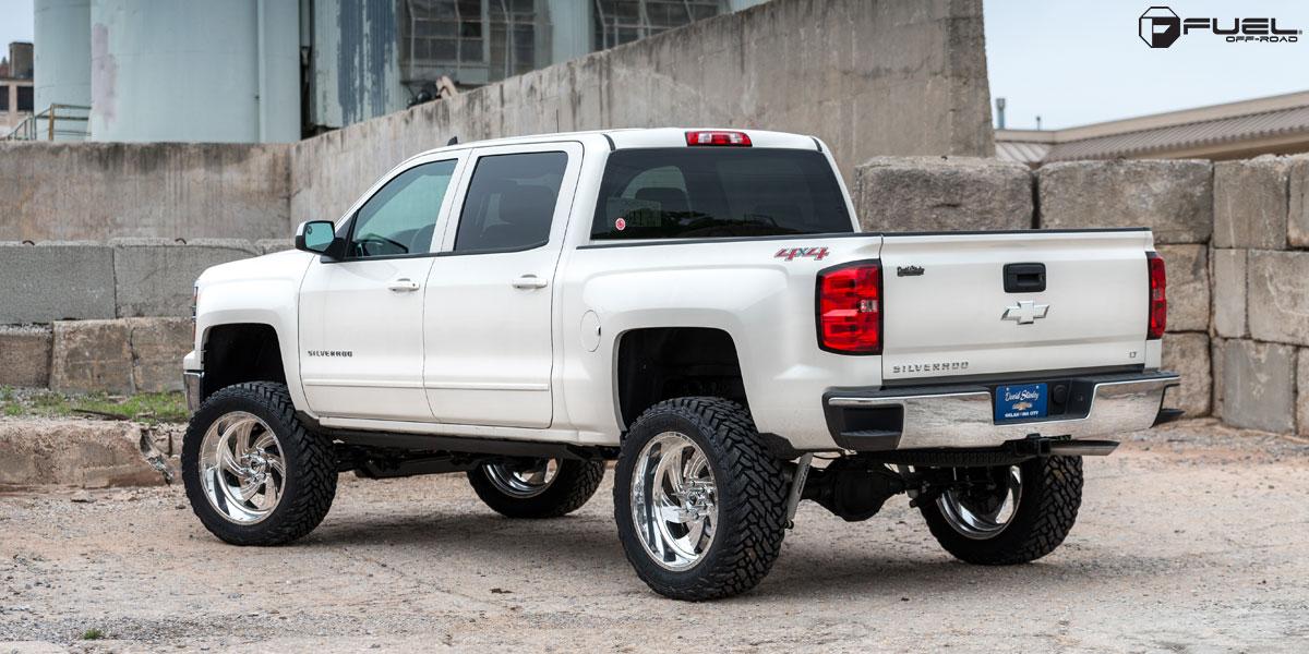 What Size Tire >> Chevrolet Silverado 1500 FF10 Gallery - Fuel Off-Road Wheels