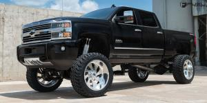 Chevrolet 2500 with Fuel Forged Wheels FF11