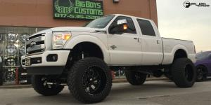 Ford F-350 with Fuel Forged Wheels FF11
