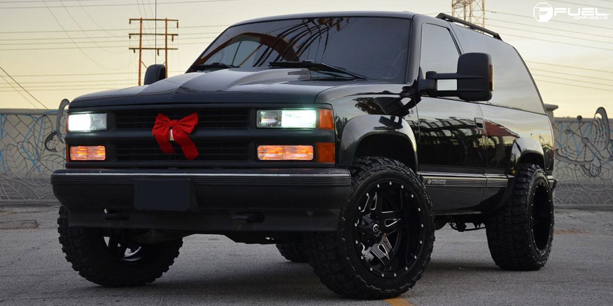 Chevrolet Tahoe Full Blown - D554 Gallery - Fuel Off-Road ...