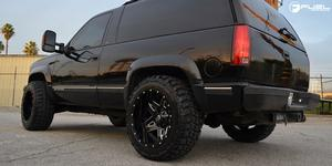 Chevrolet Tahoe Full Blown D554 Gallery Fuel Off Road