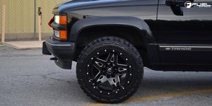 Chevrolet Tahoe with Fuel Deep Lip Wheels Full Blown - D554