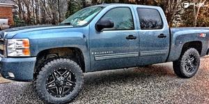 Full Blown - D554 on Chevrolet Silverado 1500