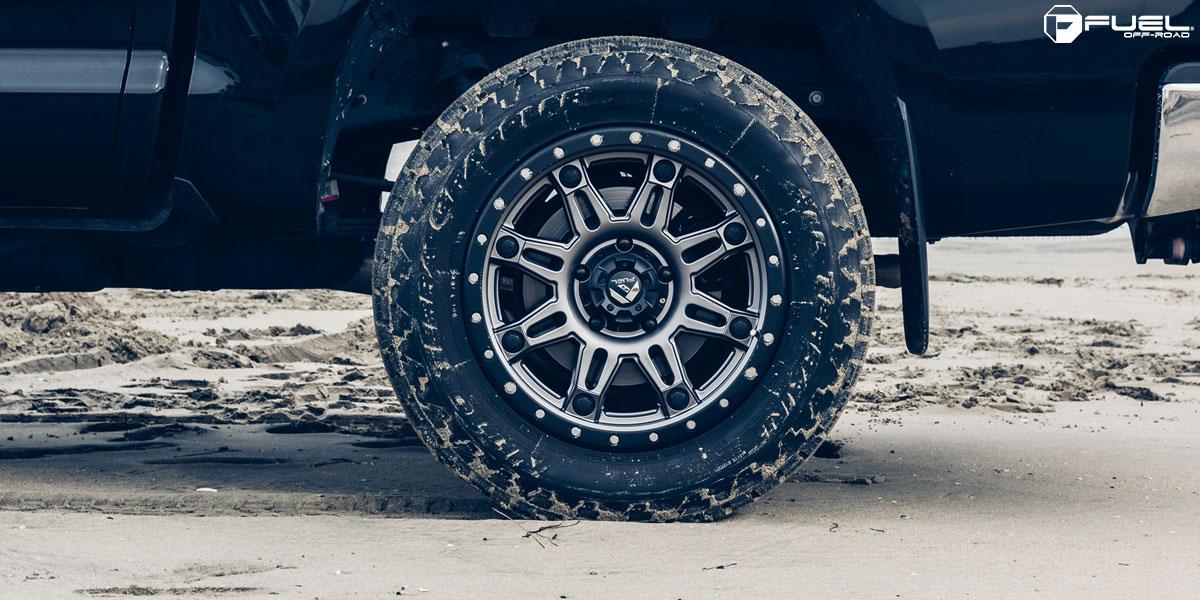 Toyota Tundra Hostage III - D568 Gallery - Fuel Off-Road Wheels