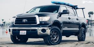 Toyota Tundra with Fuel 1-Piece Wheels Hostage III - D568