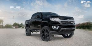 Chevrolet Colorado with Fuel 1-Piece Wheels Hostage - D531