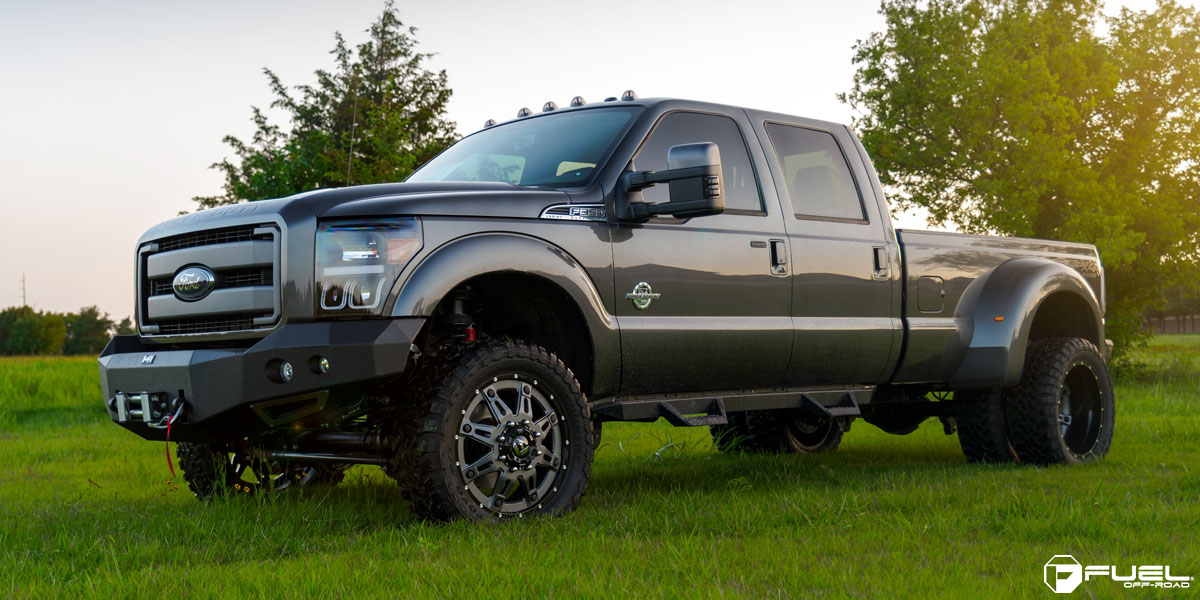 Chevrolet Okc Ford F-350 Super Duty Hostage II Dually Rear - D232 Gallery - Fuel Off ...