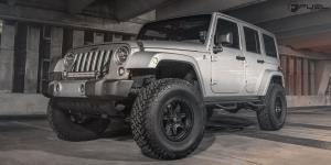 Jeep Wrangler with Fuel 1-Piece Wheels JM2 - D572