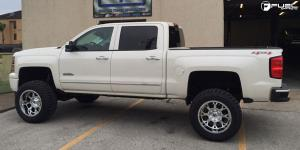 Chevrolet Silverado 1500 with Fuel 1-Piece Wheels