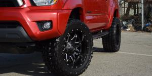 Toyota Tacoma with Fuel 1-Piece Wheels