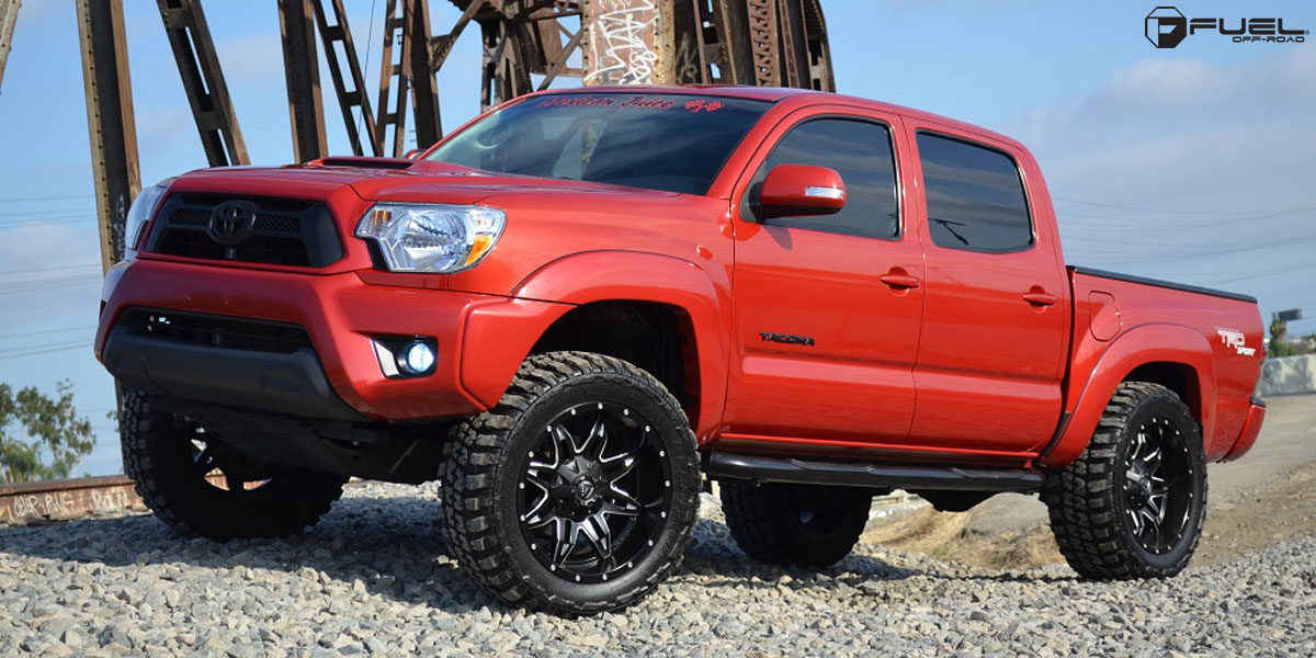toyota tacoma lethal d567 gallery fuel off road wheels. Black Bedroom Furniture Sets. Home Design Ideas