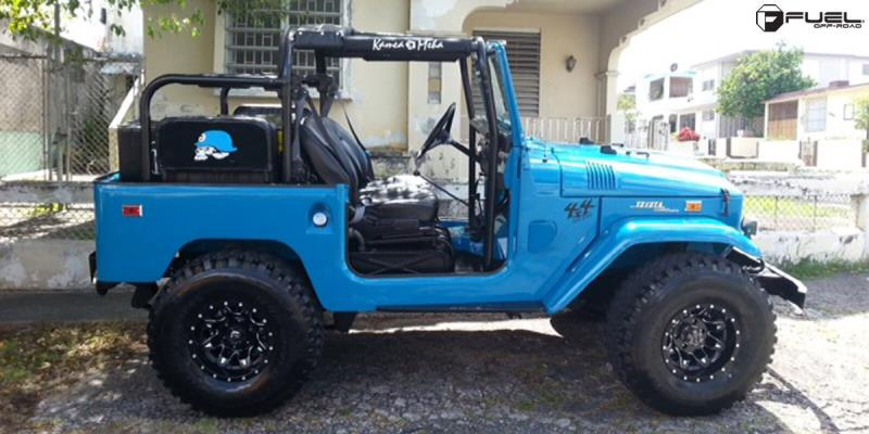 Toyota FJ40 with Fuel 1-Piece Wheels Lethal - D567