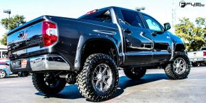 Toyota Tundra with Fuel 1-Piece Wheels Maverick - D542
