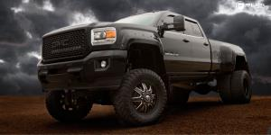 Maverick Dually Front - D538 on GMC Sierra Dually