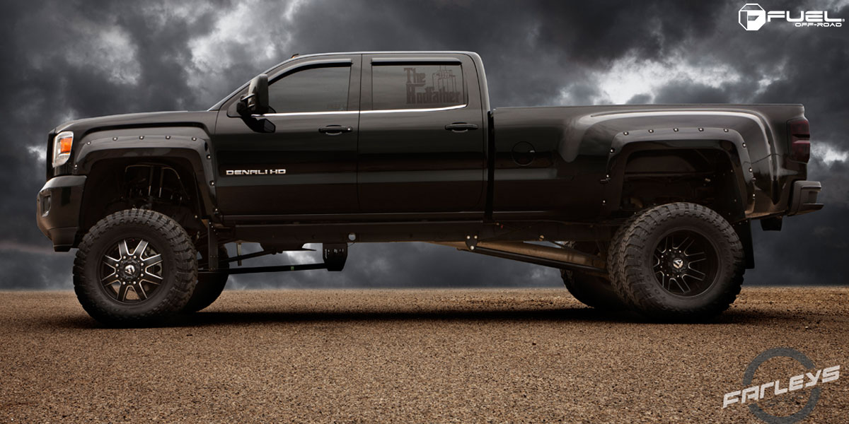 gmc sierra 3500 hd maverick dually front d538 gallery fuel off road wheels. Black Bedroom Furniture Sets. Home Design Ideas