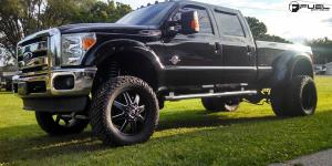 Ford F-350 Dually with Fuel Dually Wheels Maverick Dually Rear - D538