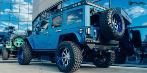 Jeep Wrangler with Fuel 2-Piece Wheels Maverick - D260