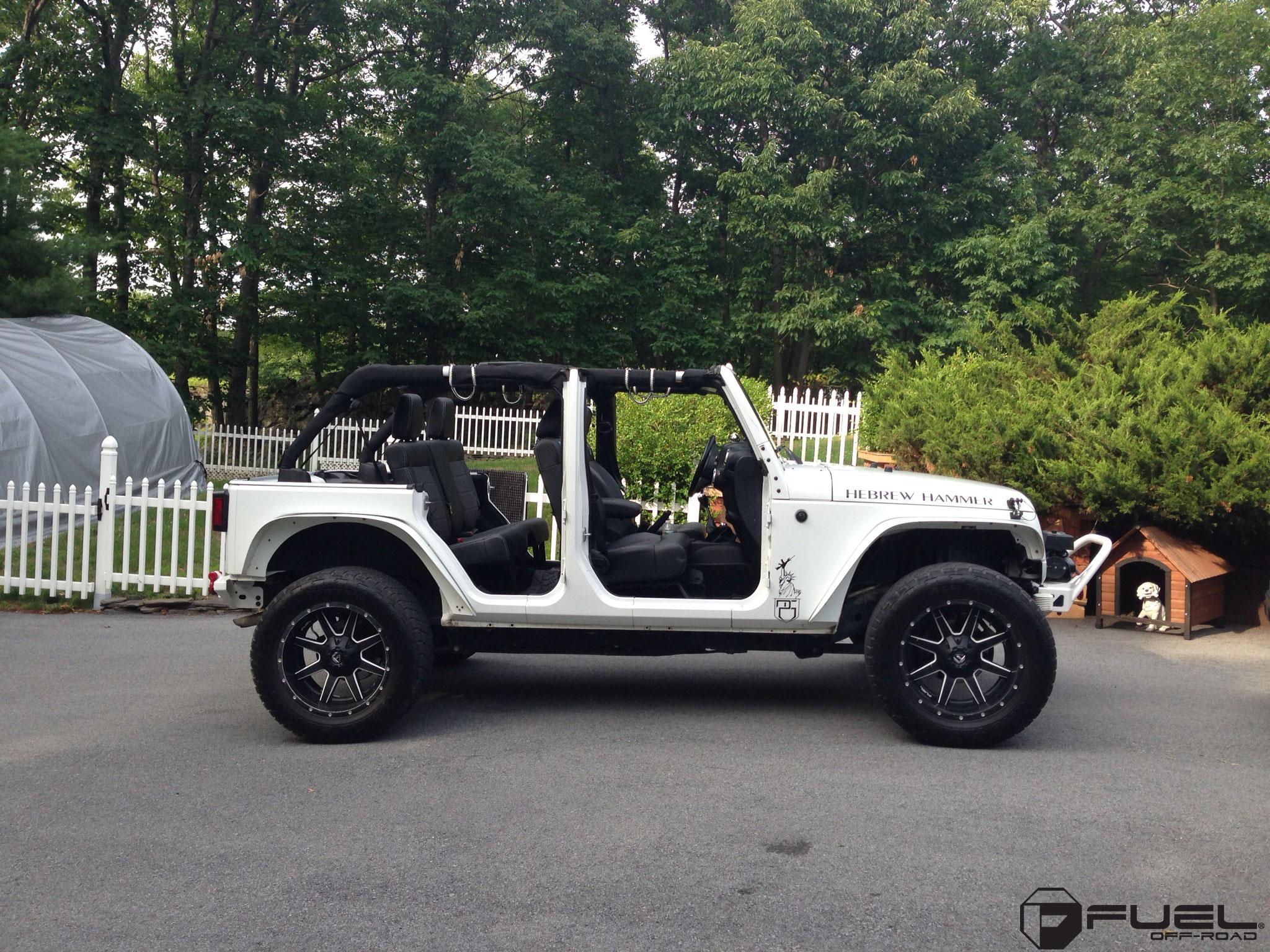 Jeep Wrangler Maverick D262 Gallery Fuel Off Road Wheels