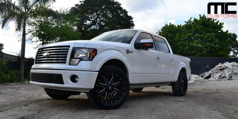 Ford F-150 with Fuel 2-Piece Wheels
