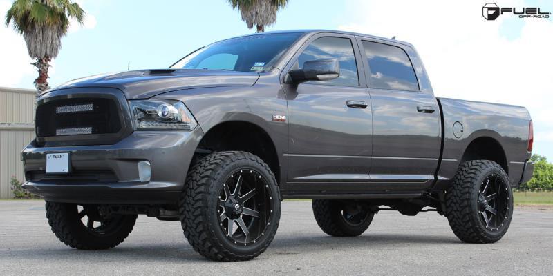 Dodge Ram 1500 with Fuel 2-Piece Wheels Maverick - D262
