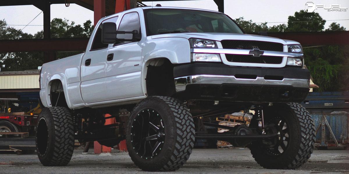 Single Cab Short Bed Duramax >> Chevrolet Silverado 2500 HD Maverick - D262 Gallery - Fuel Off-Road Wheels
