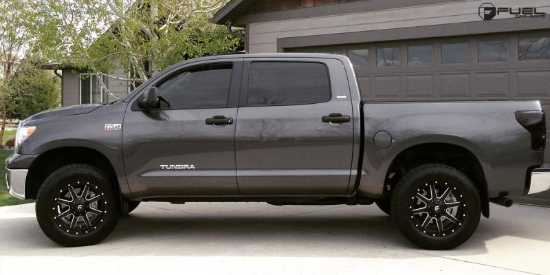 Toyota Tundra with Fuel 2-Piece Wheels Maverick - D538