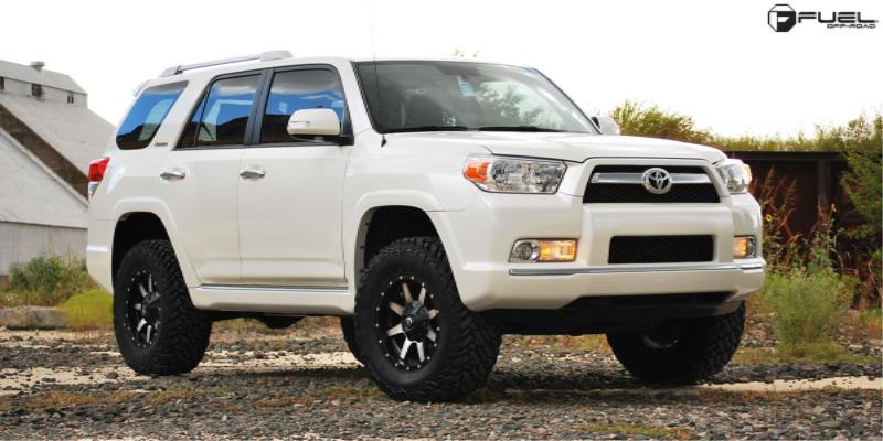 Toyota 4Runner with Fuel Deep Lip Wheels Maverick - D537