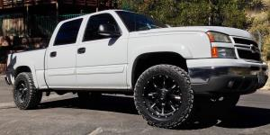Nutz - D251 on Chevrolet Silverado 2500