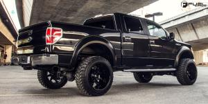 Ford F-150 with Fuel Deep Lip Wheels