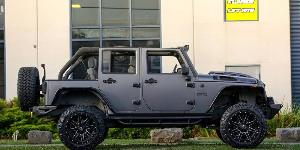 Jeep Wrangler with Fuel 1-Piece Wheels Maverick - D538
