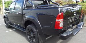 Toyota Hilux with Fuel 1-Piece Wheels Pump - D515