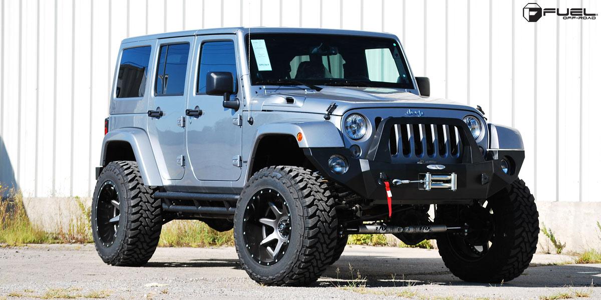 Jeep Wrangler Rampage - D238 Gallery - Fuel Off-Road Wheels
