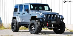 Jeep Wrangler with Fuel 2-Piece Wheels Rampage - D238