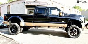 Ford F-350 Dually with Fuel Dually Wheels Renegade Dually Rear - D265