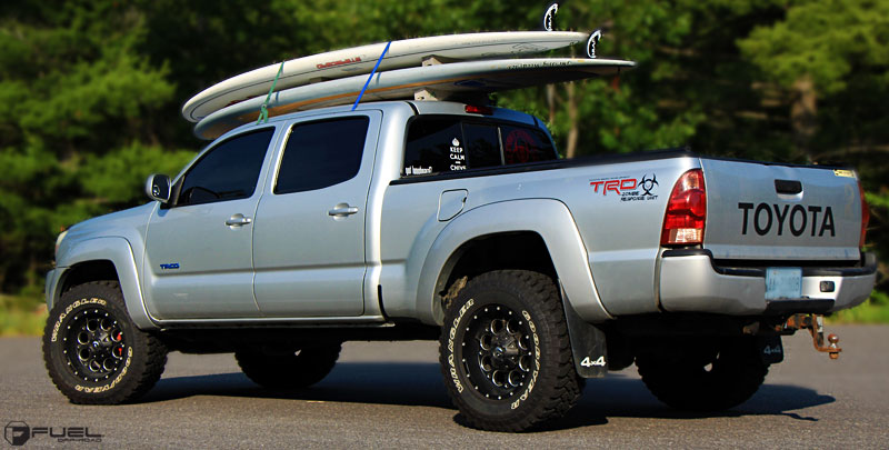 toyota tacoma revolver d525 gallery fuel off road wheels. Black Bedroom Furniture Sets. Home Design Ideas