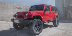 Jeep Sahara with Fuel 1-Piece Wheels Savage - D563