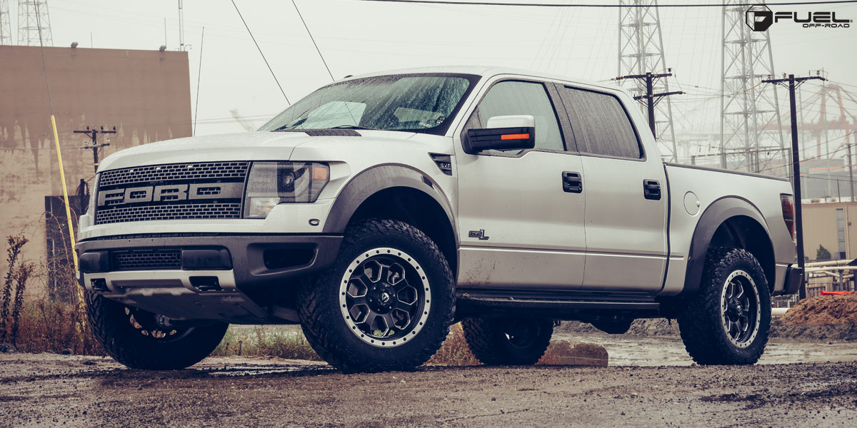 Nissan Tires Ford F-150 Raptor Savage - D565 Gallery - Fuel Off-Road Wheels