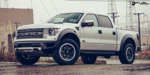 Ford F-150 Raptor with Fuel 1-Piece Wheels