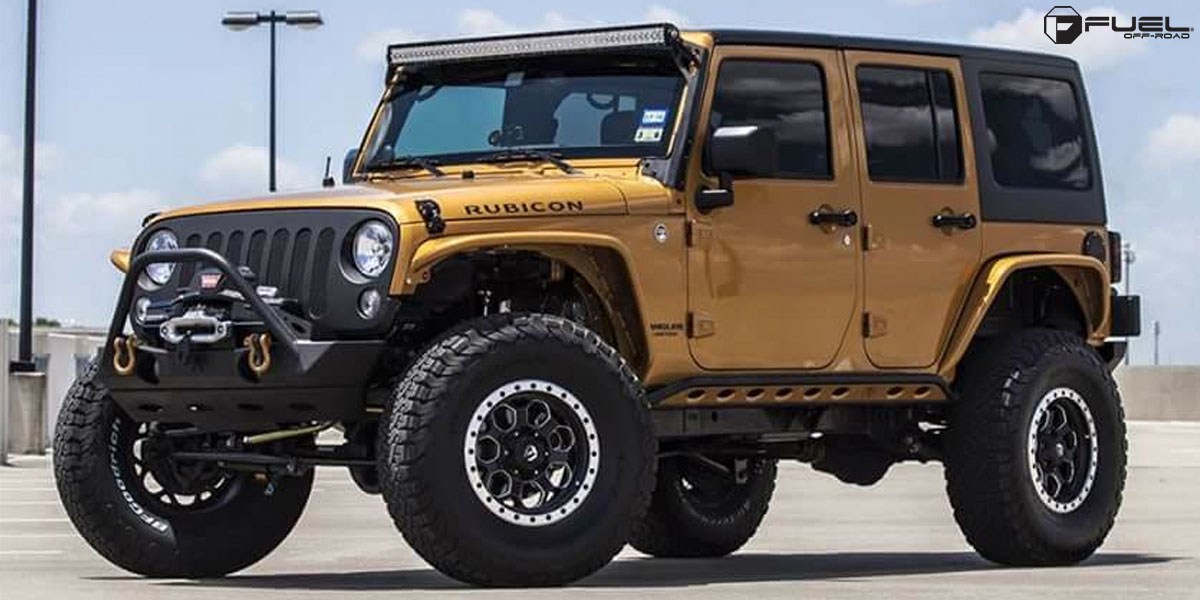 Jeep Rubicon Savage D565 Gallery Fuel Off Road Wheels