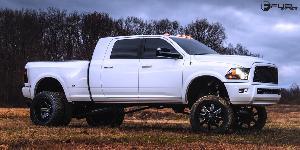 Dodge Ram 3500 Dual Rear Wheel with Fuel Dually Wheels Maverick Dually Rear - D538
