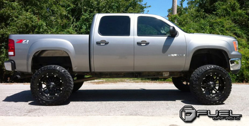 Gmc Sierra 1500 Hostage D531 Gallery Fuel Off Road Wheels