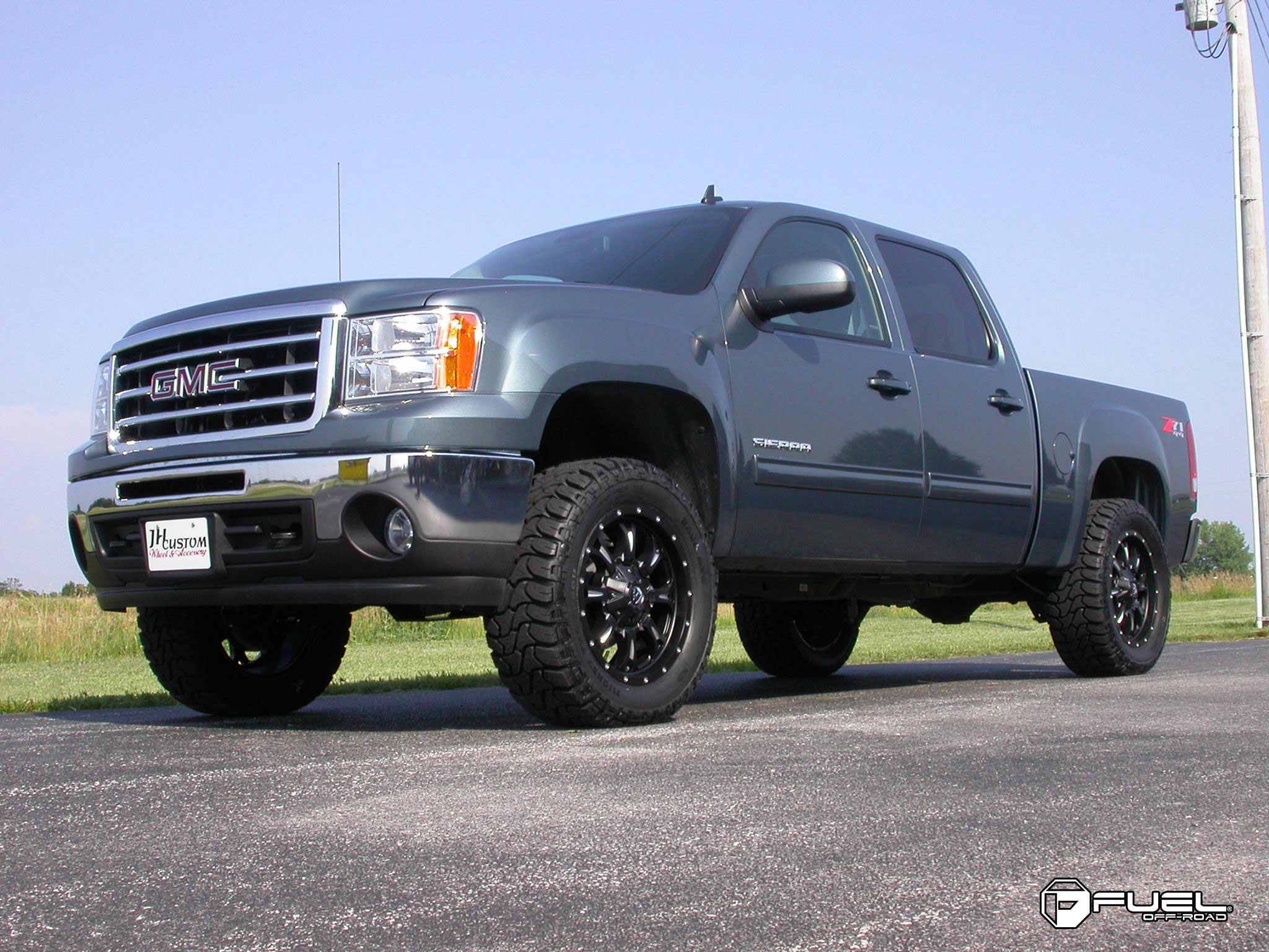 Gmc Sierra 1500 Krank D517 Gallery Fuel Off Road Wheels